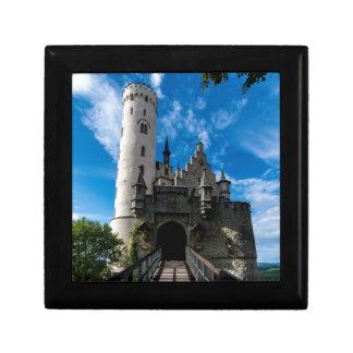 Lichtenstein Castle - Baden-wurttemberg Small Square Gift Box