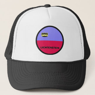 Lichtenstein Roundel quality Flag Trucker Hat