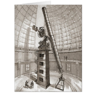 Lick Telescope 1889 Card