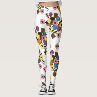 Licorice Allsorts All Sorts Candy Candies Foodie Leggings