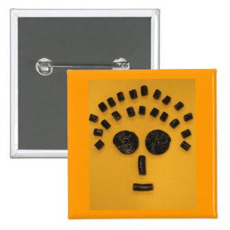 Licorice Face Button