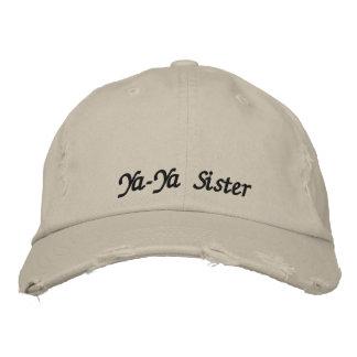 Lid Ya-Ya Sister Embroidered Baseball Cap
