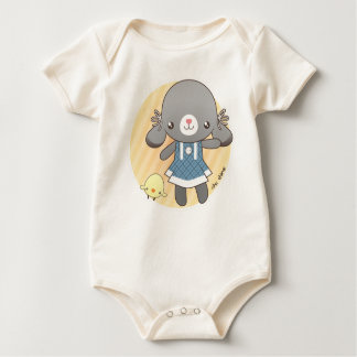 Lidia: The Bunny Amigurumi Baby Bodysuit