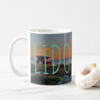 Lido Beach Sunset Mug