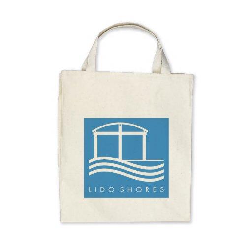 Lido Shores organic grocery bag
