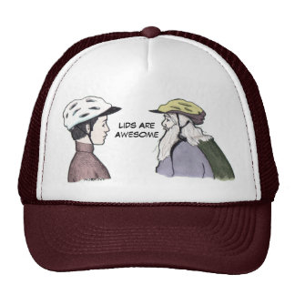 Lids Are Awesome Cap