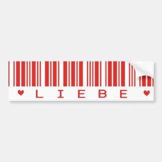 Liebe Bar Bumper Stickers