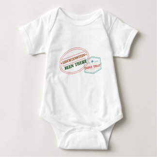 Liechtenstein Been There Done That Baby Bodysuit