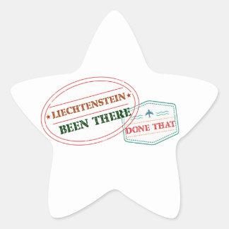 Liechtenstein Been There Done That Star Sticker