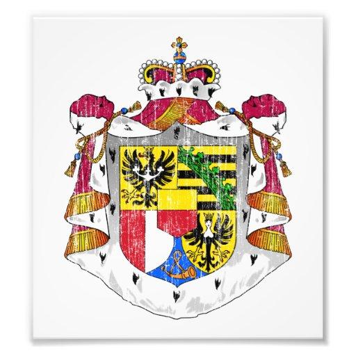 Liechtenstein Coat Of Arms Photographic Print