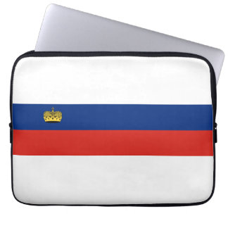 Liechtenstein country long flag nation symbol repu computer sleeves