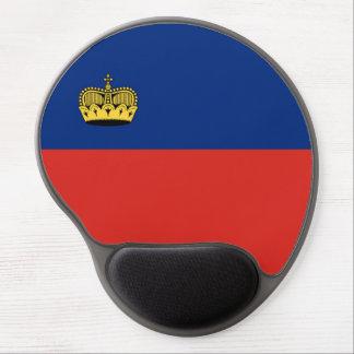 Liechtenstein country long flag nation symbol repu gel mouse pad