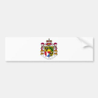 liechtenstein emblem bumper sticker