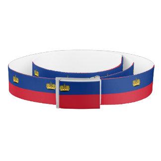 Liechtenstein Flag Belt