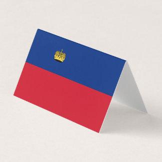Liechtenstein Flag Card