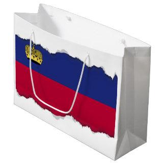Liechtenstein Flag Large Gift Bag