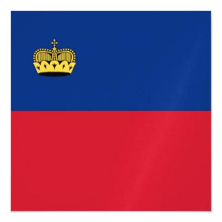 Liechtenstein Flag Magnetic Card
