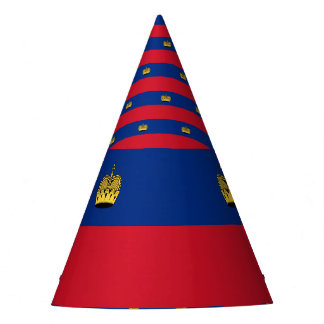 Liechtenstein Flag Party Hat