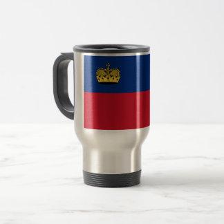 Liechtenstein Flag Travel Mug