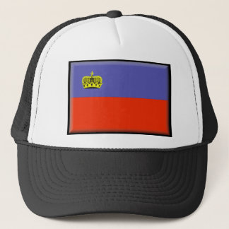 Liechtenstein Flag Trucker Hat