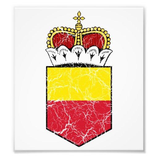 Liechtenstein Lesser Coat Of Arms Photo
