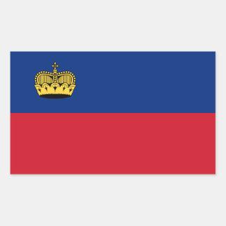 Liechtenstein/Liechtensteiner Flag Rectangular Sticker