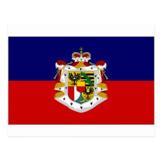 Liechtenstein State Flag Postcard