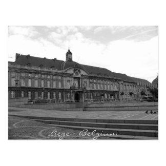 Liege Belgium Postcard