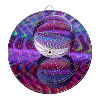 Lies in the crystal ball dartboard