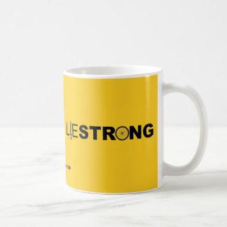 LIESTRONG - Lance Armstrong Basic White Mug