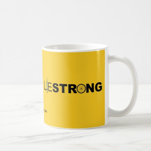 LIESTRONG - Lance Armstrong Coffee Mugs