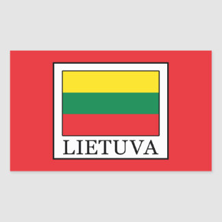 Lietuva Rectangular Sticker