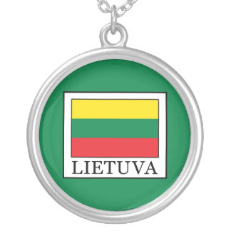 Lietuva Silver Plated Necklace