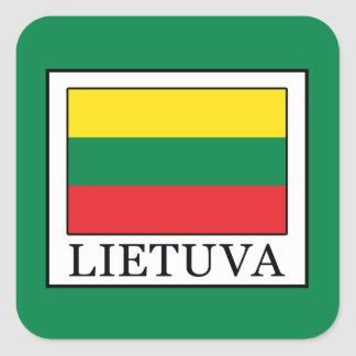 Lietuva Square Sticker