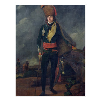 Lieutenant of the 8th Hussars Postcard