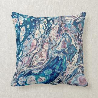 Life Abstract Art Throw Pillow
