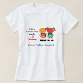 Life Adventure with Children Advertisement T-Shirt