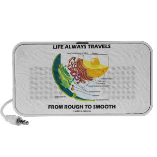 Life Always Travels From Rough To Smooth iPhone Speakers