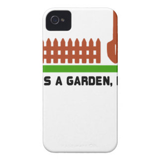 Life and Garden dig it iPhone 4 Case-Mate Cases