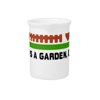 Life and Garden dig it Pitcher