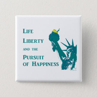 Life and Liberty 15 Cm Square Badge
