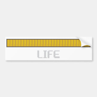 Life Bar Bumper Sticker