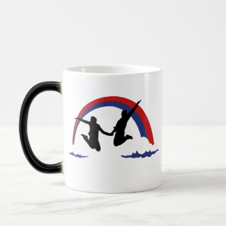 Life Before Facebook 11 Oz Magic Heat Color-Changing Coffee Mug