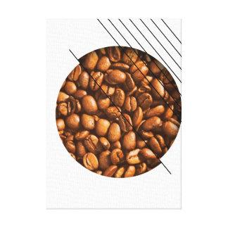 Life Begins After Coffee Caffeine Addict Canvas Print
