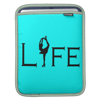 LIFE - Bright Blue/skater Sleeve For iPads