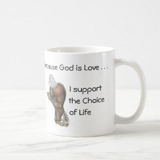 Life by Praying Eagle (R) Coffee Mug