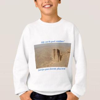 Life can be good - Edge of the World Sweatshirt