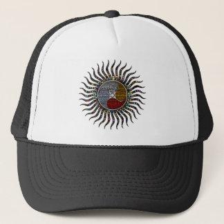 Life circle trucker hat