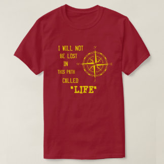 Life compass (Yellow) T-Shirt