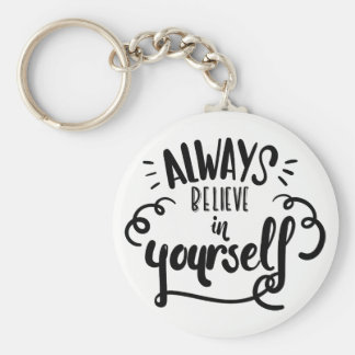 Life Confidence  Attitude Goals Motivational Quote Key Ring